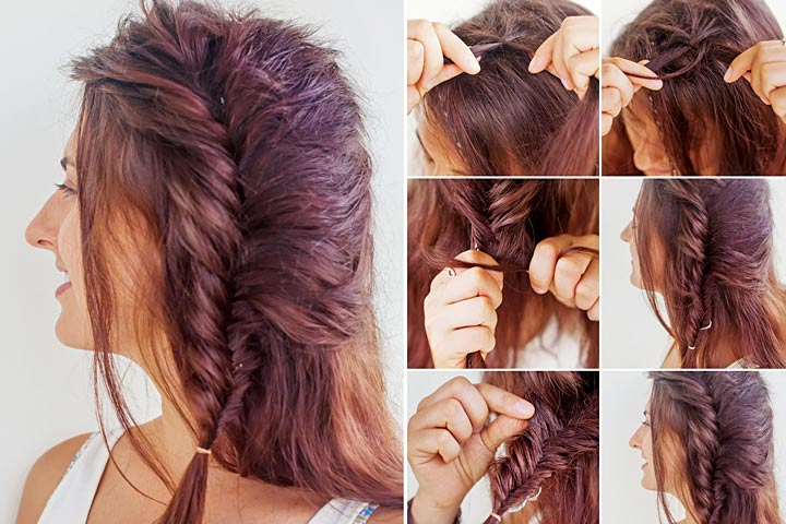 Fabulous 10 Cute And Easy Teenage Girl Hairstyles For School Hairstyles For Women Draintrainus