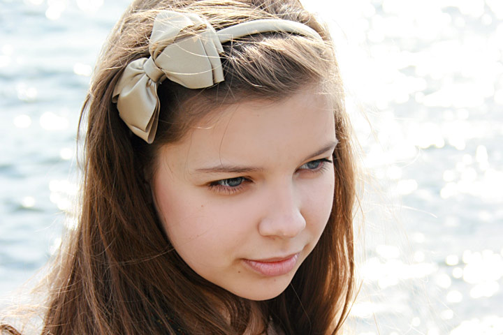 10 cute and easy teenage girl hairstyles for school hair bow urmus Image collections