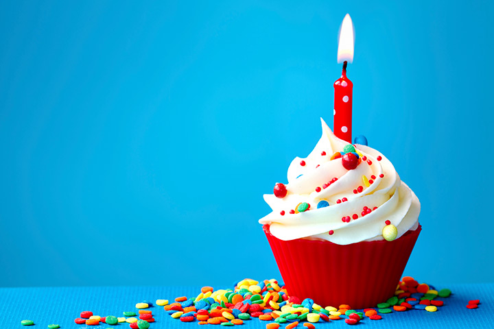 Happy Birthday Cupcake For Kids Pictures