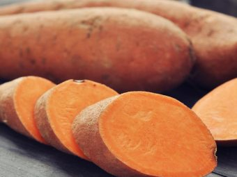 Health Benefits Of Sweet Potatoes For Babies