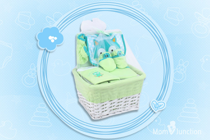 Honey Bunny Layette Basket Set