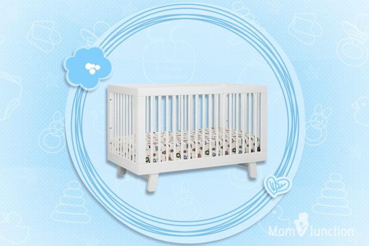 Hudson Wooden Baby Crib