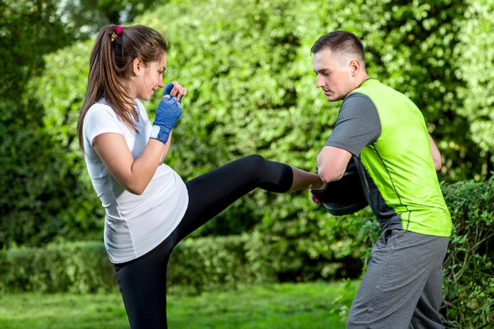 Kickboxing During Pregnancy