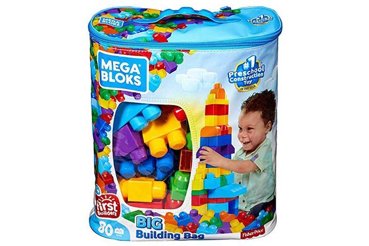 Mega Brands First Builders Big Building Bag