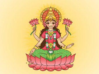 50 Best Names Of Hindu Goddess Lakshmi For Your Baby Girl