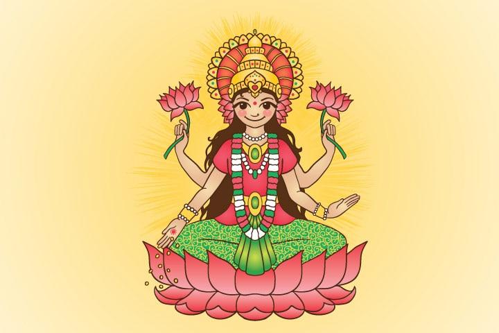 Names Of Hindu Goddess Lakshmi For Baby Girl