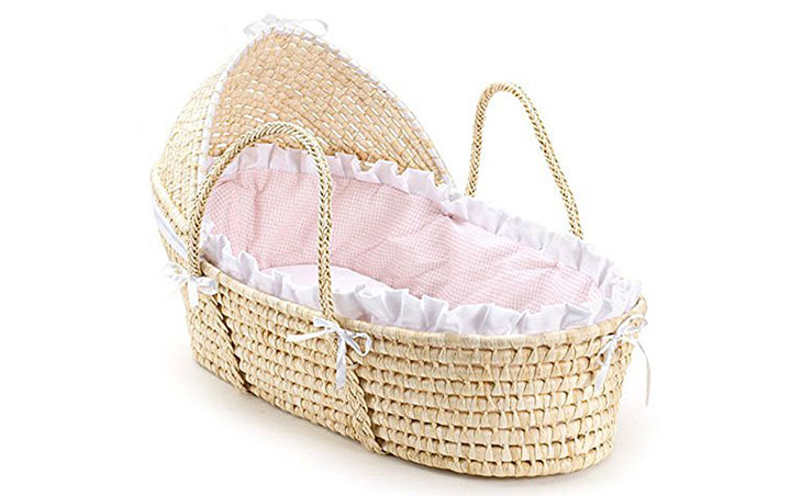 Natural-Hooded-Moses-Basket