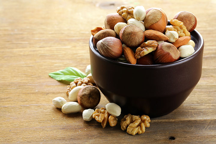 Nuts During Breastfeeding