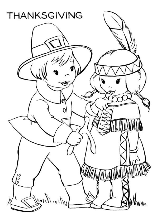 Pilgrims-And-Native-Americans