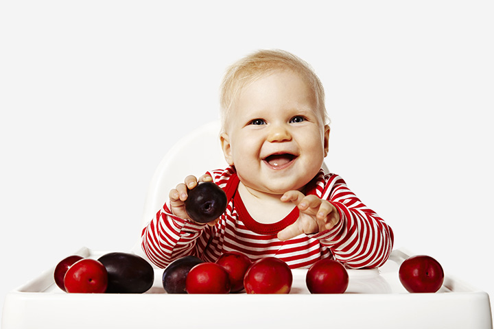Plum Recipes For Your Baby
