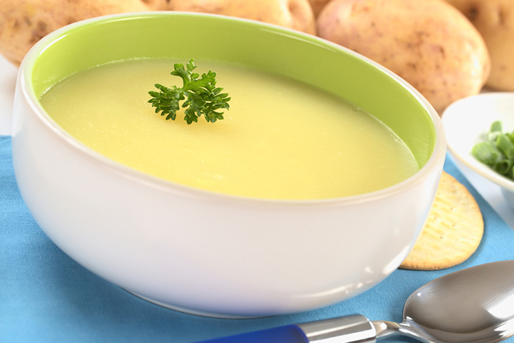 Potato and cream puree