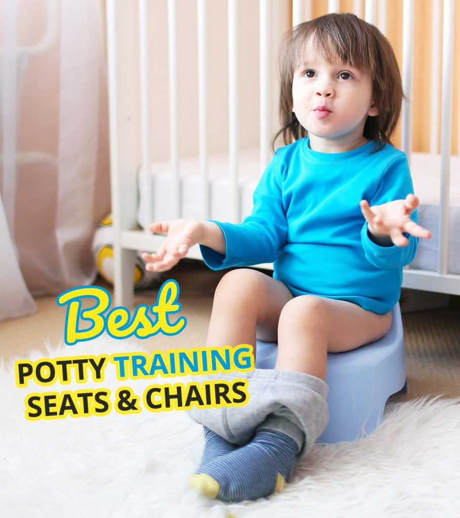 Blue Baby Children Toddler Potty Training Chair Seat High Quality