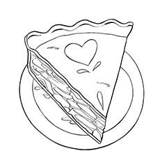 Thanksgiving Coloring Pages Pumpkin Pie