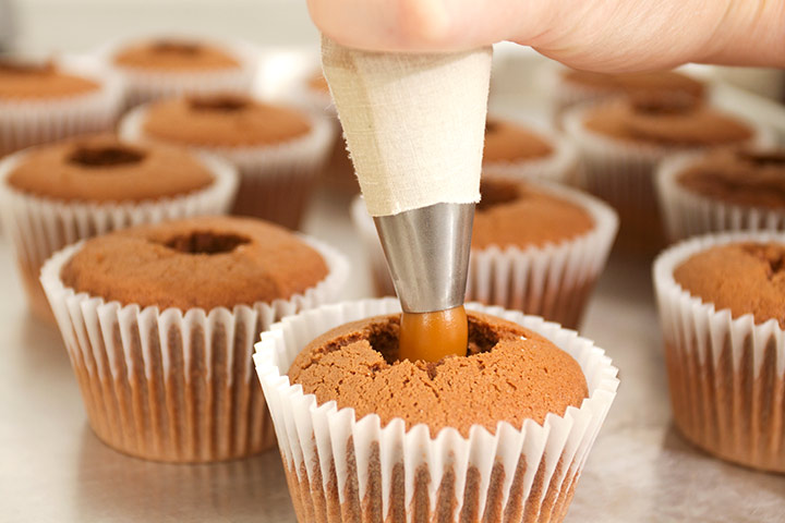 Salted Caramel Filled Cupcake Recipes For Kids Pictures