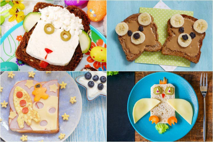 Sandwich Decoration Ideas for Kids