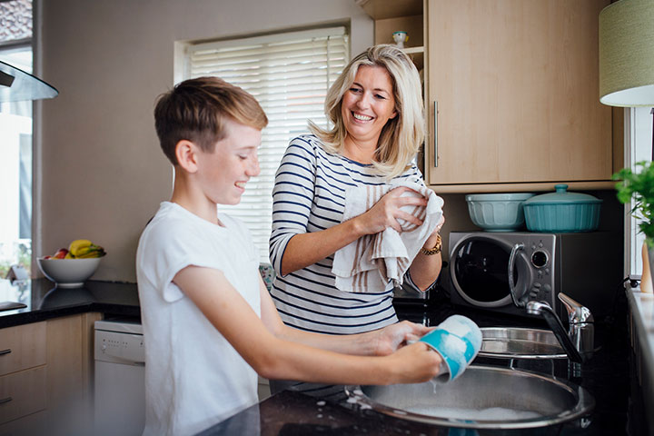 Share the household chores