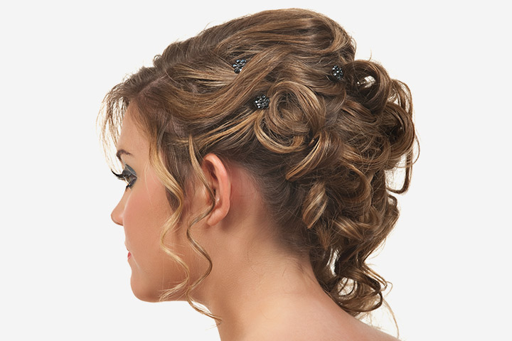 Simple Flowy Updo