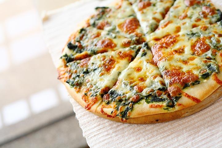 Spinach-Artichoke Pizza