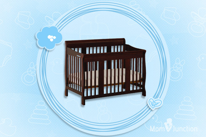Stork Craft Tuscany 4-in-1 Stages Crib