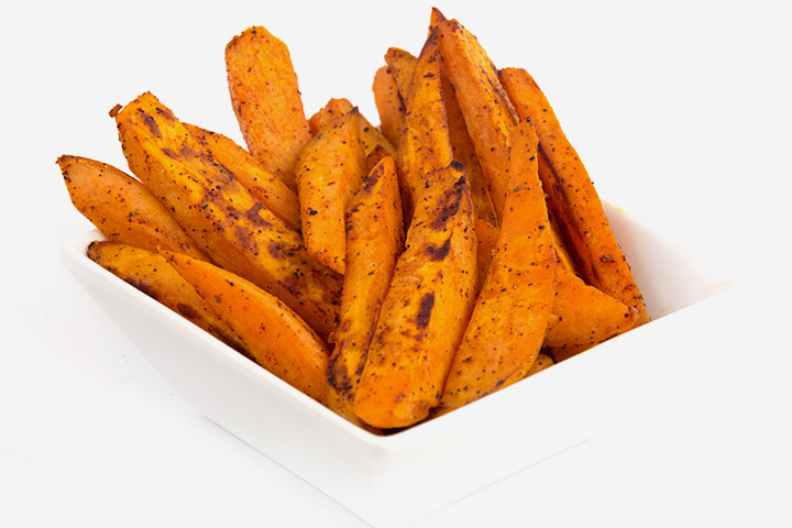 Sweet potato wedges or fries