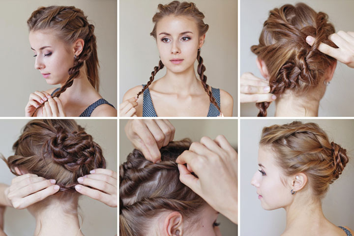 Simple   Hair Tutorial 4 Pretty And Easy Hairstyles You Can Wear Everyday
