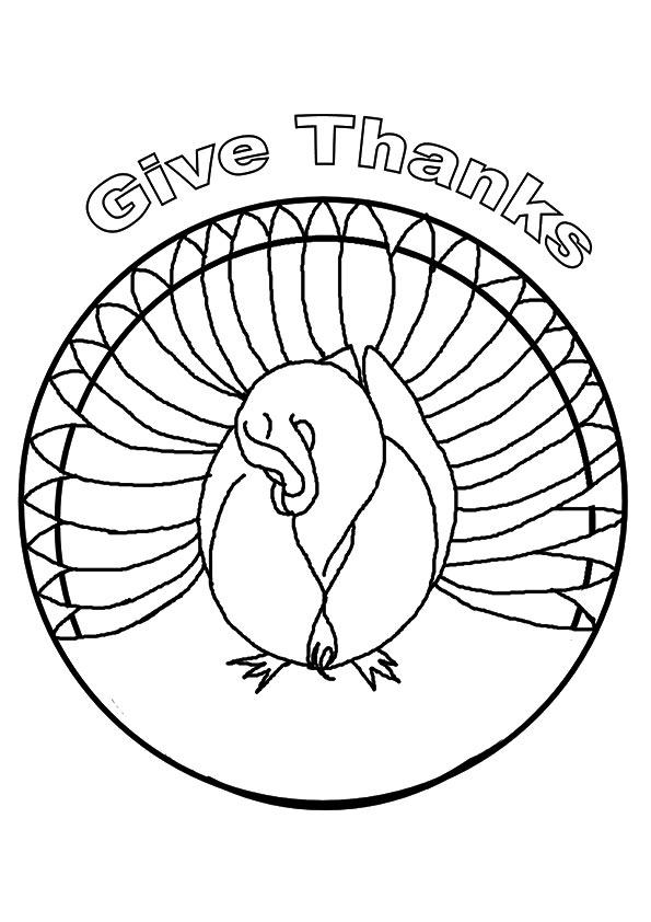 Thanksgiving-Mandala