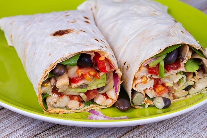 Turkey-and-Bean-Burrito
