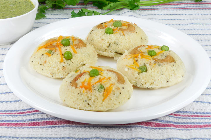Vegetable And Dal Idli