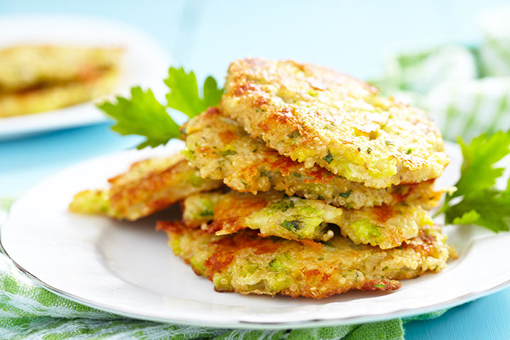 Zucchini And Potato Fritters
