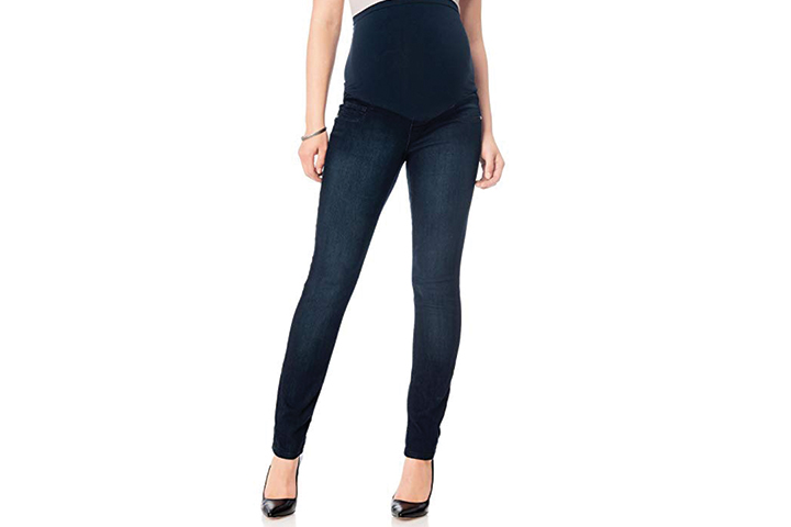 Motherhood Fade to Blue Petite Maternity Jeans
