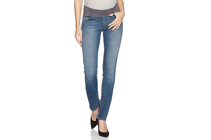 Maternal America Women's Maternity California Skinny Jeans