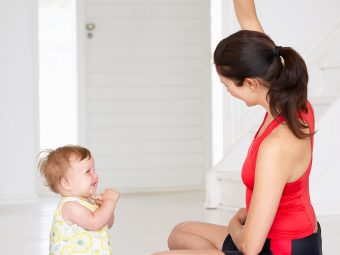 13 Best Yoga Poses For Mom And Baby