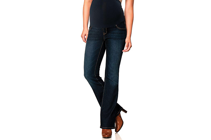 Motherhood Secret Fit Belly Long Boot Cut Maternity Jeans