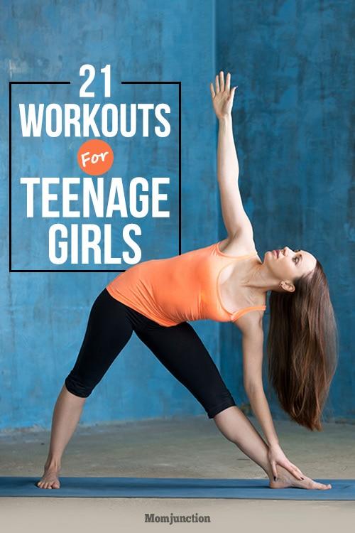 21 Impressive Workouts For Teenage Girls