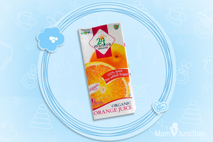 24 Mantra - Organic Orange Juice