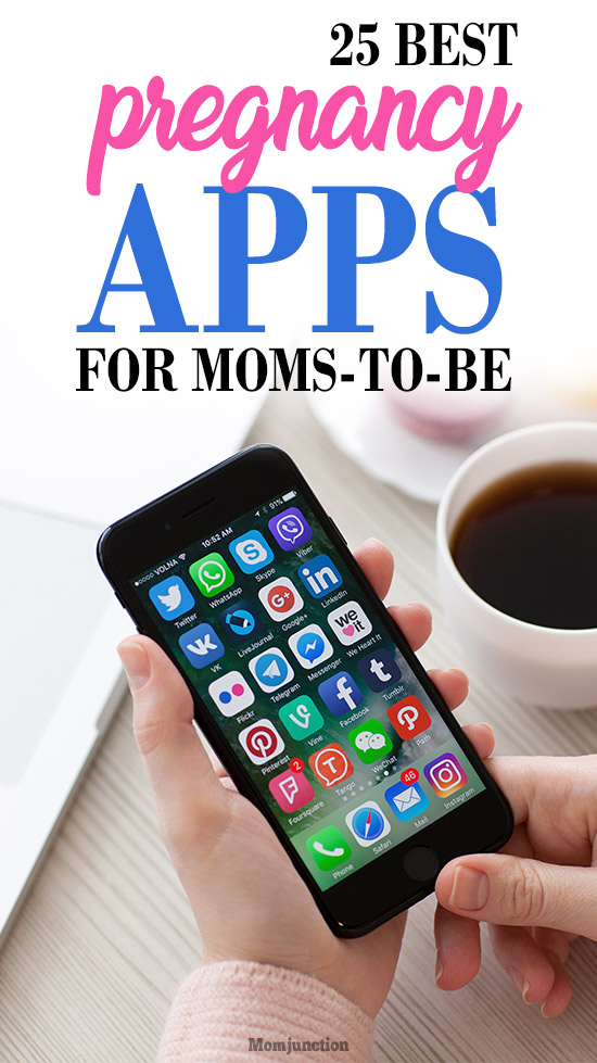 25 Best Pregnancy Apps For Moms-To-Be In 2019