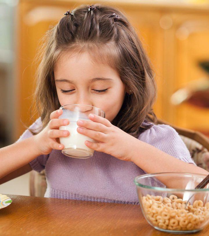 Benefits Of Milk For Kids