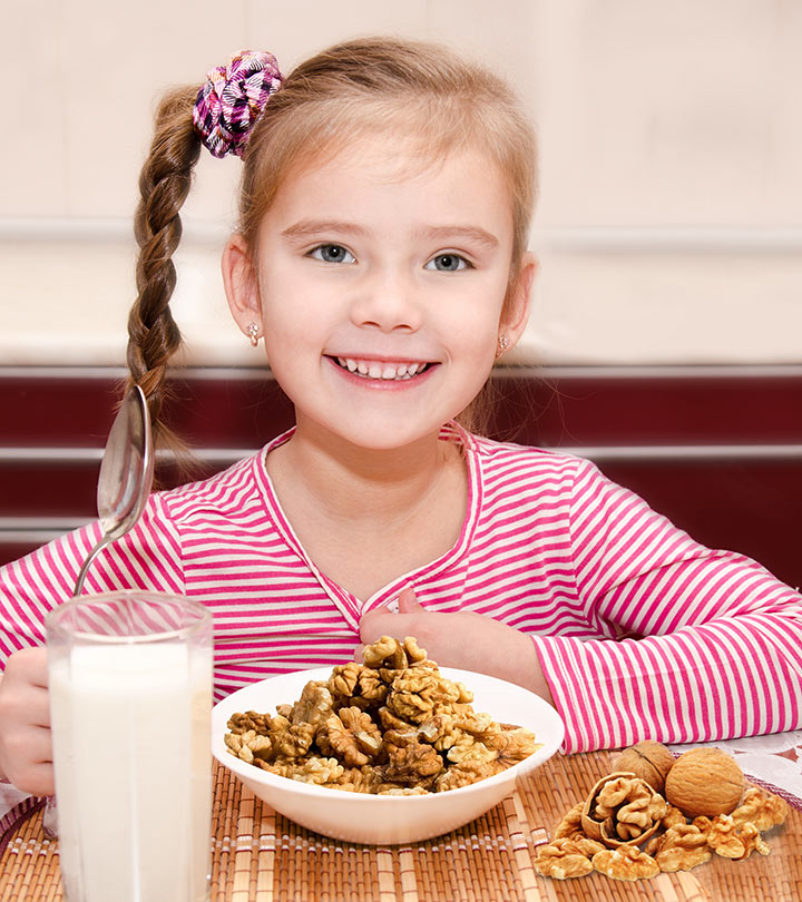7 Walnut Benefits For Kids(1 Bonus Walnut Recipe)