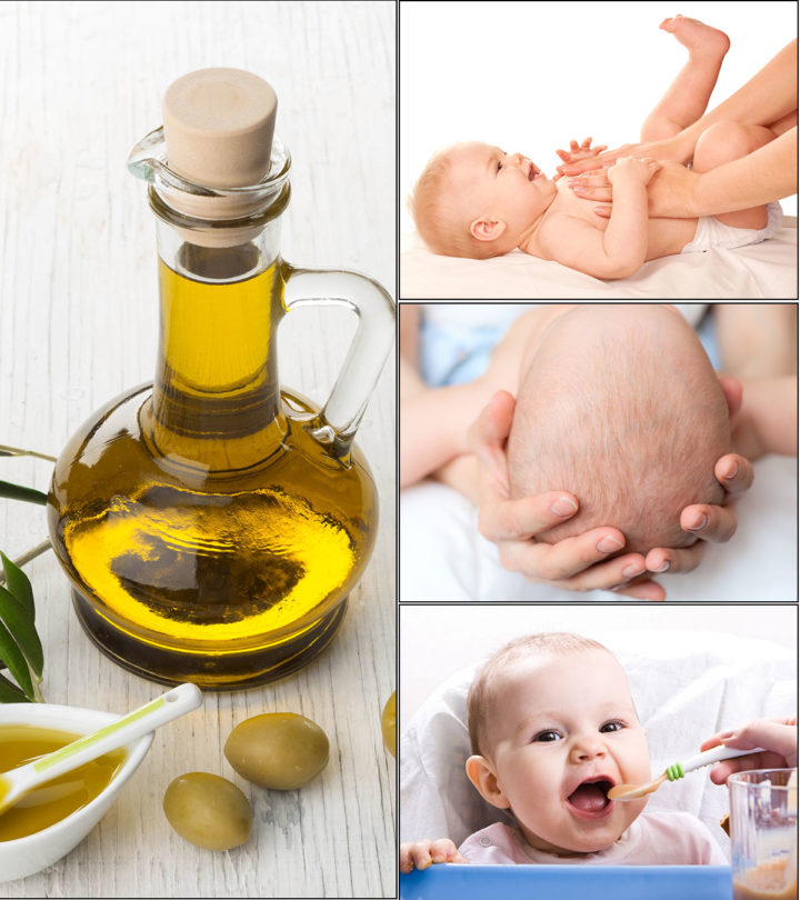 Key Benefits Of Using Olive Oil For Babies