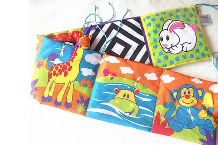 Animal Cloth Book Infant Kid