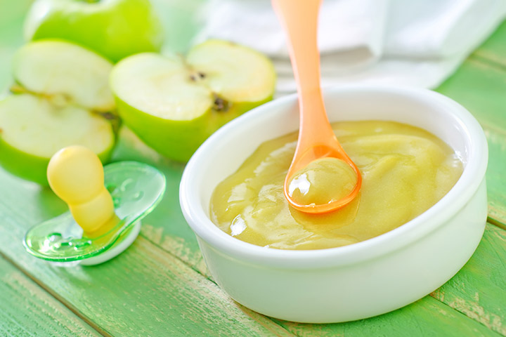 Apple and pear mash
