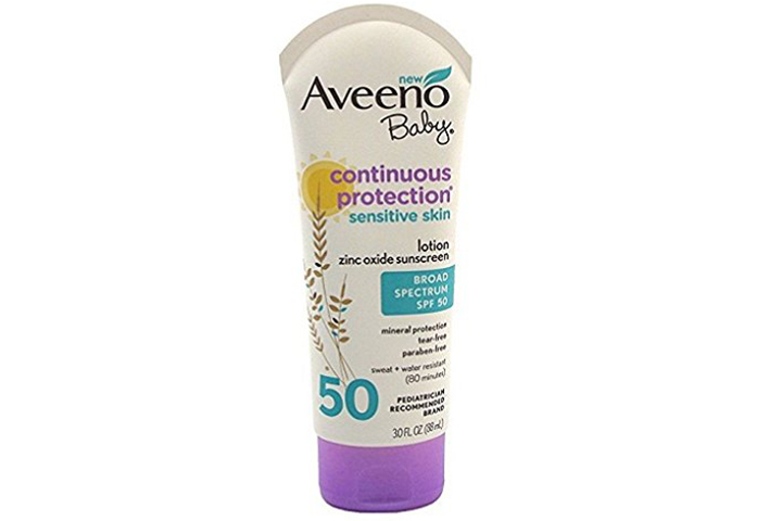 Aveeno Baby Sensitive Skin Sunscreen Lotion