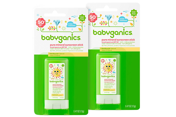 Babyganics Pure Mineral Sunscreen Stick