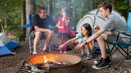 Backyard Camping For Kids