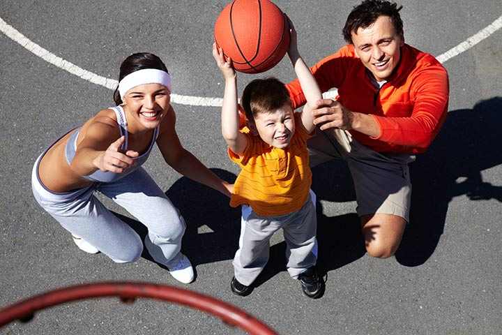 Games To Play At The Park - Basketball