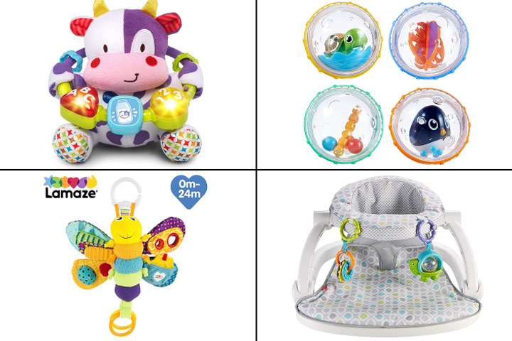 Best Toys For 4-Month-Olds In 2019