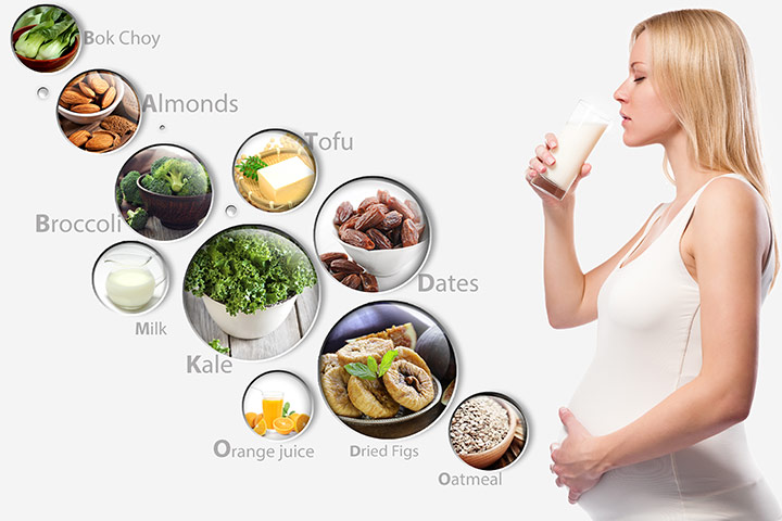 10 Essential Calcium Rich Foods During Pregnancy