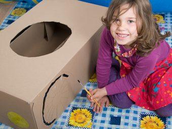 How To Make A Cardboard Box Car For Kids?
