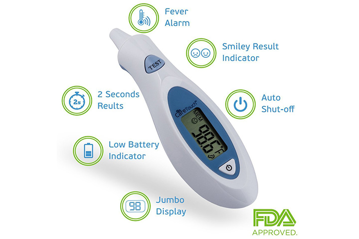 Care Touch Digital Infrared Ear Thermometer