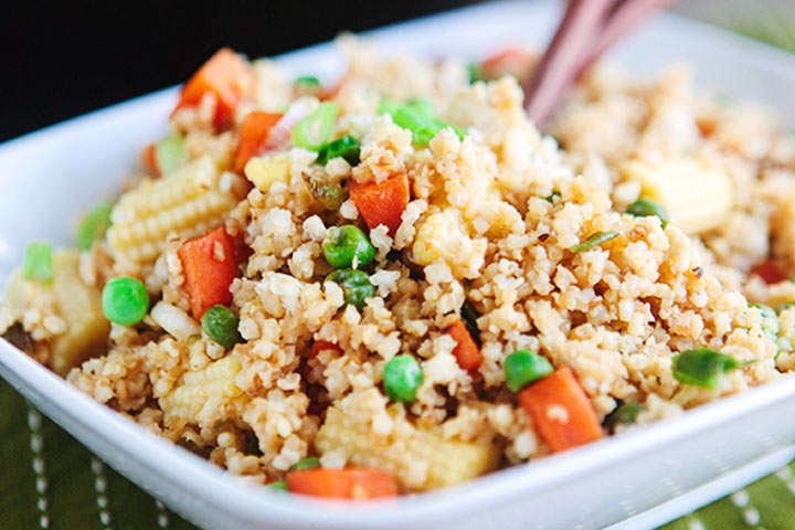 Carrot And Millet Rice